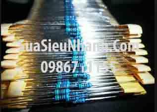 Tên hàng: Điện trở 1M 0.25W (1M 1/4W) sai số 1%; Mã: RES-1M0.25W