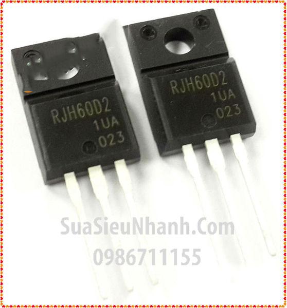 Tên hàng: RJH60D2 RJH60D2DPP TO220F IGBT 12A 600V; Mã: RJH60D2; Kiểu chân: cắm TO-220F; Dùng cho: Vật tư máy may