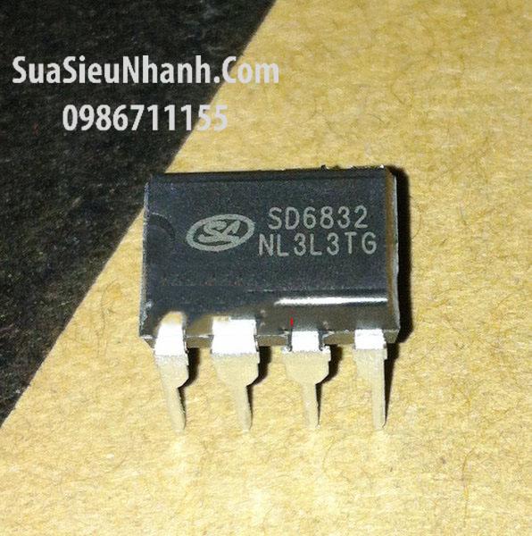 Tên hàng:SD6832 DIP8 IC nguồn PWM; Mã: SD6832; Kiểu chân: cắm DIP-8;