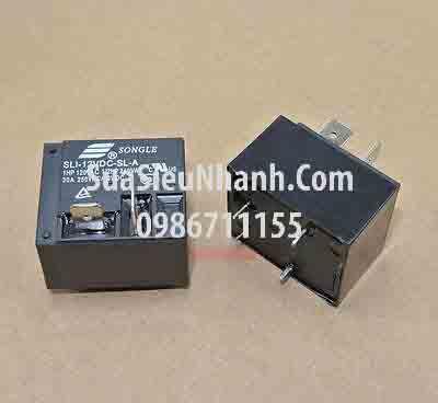 Tên hàng: SLI-12VDC-SL-A Relay 12VDC 4 chân 30A 250V; Mã: SLI-12VDC-SL-A;