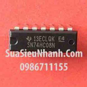 Tên hàng: SN74HC08N 74HC08N HD74HC08P DIP-14 IC số;  Mã: SN74HC08N;  Kiểu chân: cắm DIP-14