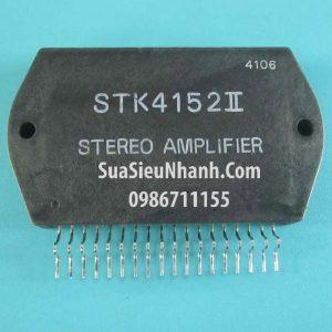 Tên hàng: STK4152II IC Khuếch đại âm thanh 30W; Mã: STK4152II; Kiểu chân: cắm; Dùng cho: Vật tư Ampli; Thông số: AF Power Amplifier 30W (Split Power Supply)(30W + 30W min, THD = 0.4%)