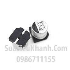 Tên hàng: Tụ nhôm dán 220uF 10V SMD 6.3x5.4mm