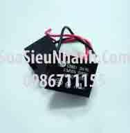 Tên hàng: Tụ quạt CBB61 5uF 450VAC 2 dây; mã: CBB61_5uF450VAC; Dùng cho: vật tư quạt điện; Tag: tụ quạt 2uF 450VAC