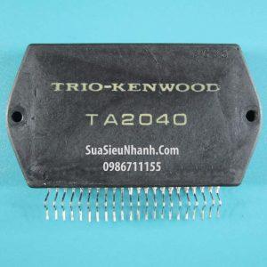 Tên hàng: TA2040 IC khuếch đại ampli KENWOOD cũ;  Mã: TA2040_OLD;  kiểu chân: cắm 22P;  Hãng sx: KENWOOD;