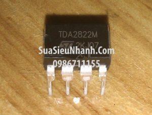 Tên hàng: TDA2822 TDA2822M IC Ampli AUDIO;  Mã: TDA2822M ;  Kiểu chân: cắm DIP-8;  Hãng sx: ST