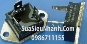 Tên hàng: TG35C60 TRIAC 35A 600V; Mã: TG35C60; Kiểu chân: cắm; Thương hiệu: SanRex; Hàng tương đương: TG25C60