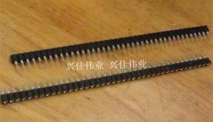 Tên hàng: Thanh zăm cái tròn thẳng 2.54mm 1x40;