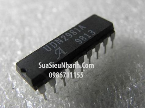 Tên hàng: UDN2981A DIP18 IC 8-CHANNEL SOURCE DRIVERS LED, RELAY; Mã: UDN2981A; Kiểu chân: cắm DIP-18; Thương hiệu: Allegro; Phân Nhóm: IC Driver