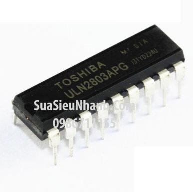 Tên hàng: ULN2803APG ULN2803 DIP18 IC Driver 8 Tran darlington arrays; Mã: ULN2803APG; Kiểu chân: cắm DIP-16; Thương hiệu: TOSHIBA; Hàng tương đương: TD62083A;