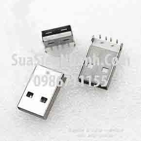 Tên hàng: USB-A Cổng USB A loại đực, chân cắm hàn mạch;