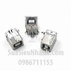 Tên hàng: USB-B Cổng USB B loại cái, chân cắm hàn mạch;Tên hàng: USB-B Cổng USB B loại cái, chân cắm hàn mạch;