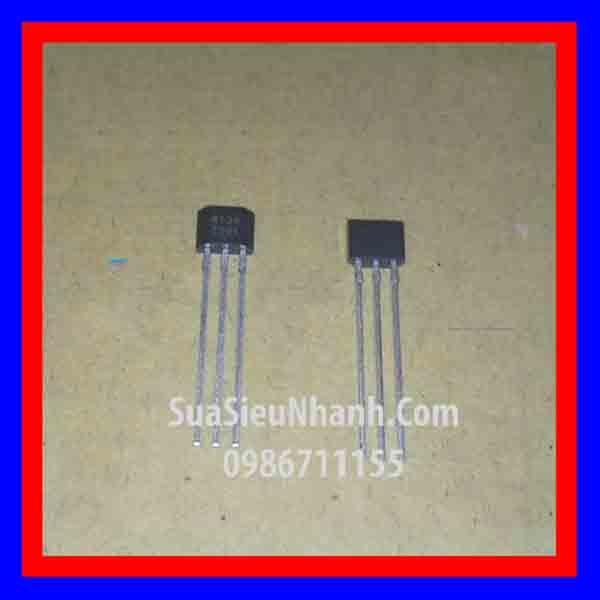 Tên hàng: WSH134 W134 TO92 cảm biến Hall, cảm biến từ; Mã: W134; Kiểu chân: cắm TO-92;