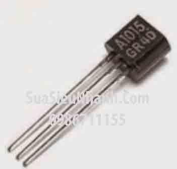 Tên hàng: 2SA1015 A1015 TO92 PNP Transistor 0.15A 50V; Mã: 2SA1015; Kiểu chân: cắm TO-92