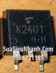Tên hàng: 2SK2401 K2401 TO263 N MOSFET 15A 200V;  Mã: 2SK2401;  Kiểu chân: dán TO-263