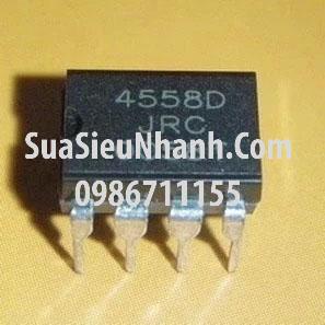 Tên hàng: 4558D JRC4558 DIP8 IC thuật toán; Mã: JRC4558D_DIP8; Kiểu chân: cắm DIP-8;
