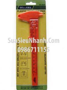 Tên hàng: Thước kẹp nhựa SELLERY 150mm;  Mã: 54-808;  Hãng SX: SELLERY;  Dùng cho: Vật tư dụng cụ - Tools