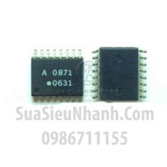 Tên hàng: HCPL-0871 A 0871 A0871 SOP16 IC cách ly quang opto photocoupler;  Mã: A0871;  Kiểu chân: dán SOP-16