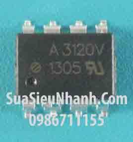 Tên hàng: A3120V SOP8 Photocoupler opto cách ly quang;  Mã: A3120V_SOP8_-IC;  Kiểu chân: dán SOP-8;  Hàng tương đương: A3120, HCPL-3120 SOP-8