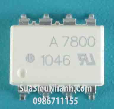 Tên hàng: A7800, HP7800, HCPL-7800 SOP8 Photocoupler opto cách ly quang; Mã: A7800_SOP8; Kiểu chân: dán SOP-8; Hàng tương đương: A7800, A7800A, HCPL-7800; HCPL7800 SOP8 Photocoupler opto cách ly quang; Mã kho: A7800_SOP8_-ic;