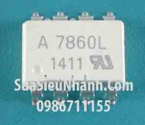 Tên hàng: A7860L HCPL7860L HCPL-7860L Photocoupler;  Mã: A7860L_SOP8;  Kiểu chân: dán SOP-8;  Hãng sx: AVAGO;  Dùng cho: Vật tư biến tần, vật tư servo driver;  Mã kho: A7860L_SOP8_-ic