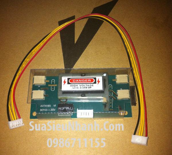 Tên hàng: AVT4165 V1 Mạch cao áp 4 bóng 24 inch; Mã: AVT4165-V1