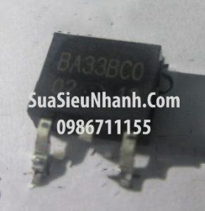 Tên hàng: BA33BC0 IC ổn áp nguồn 3.3V;  Mã: BA33BC0;  Kiểu chân: dán TO-252;  Thương hiệu: ROHM;  Hàng tương đương: BA33BC0FP-E2, BA33BCO