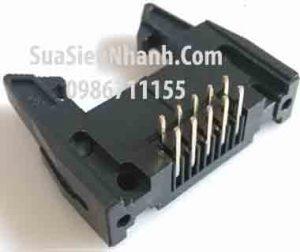 Tên hàng: DC2-10P IDE10P Box header 5x2p 2.54mm đực cong, có kẹp (só sừng);  Mã: DC2-10P_R;  Hàng tương đương: IDE 10;  Mã kho: DC2-10P_R_GOO