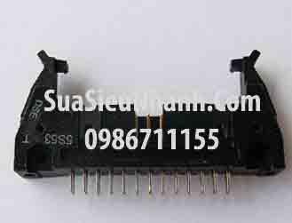 Tên hàng: DC2-26P IDE26P Box header 13x2p 2.54mm đực thẳng, có kẹp (só sừng); Mã: DC2-26P_S; Hàng tương đương: IDE 26; Mã kho: DC2-26P_S_GOO