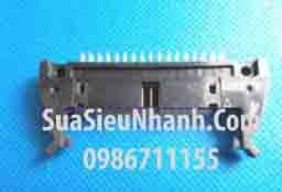 Tên hàng: DC2-34P IDE34P Box header 17x2p 2.54mm đực thẳng, có kẹp (só sừng); Mã: DC2-34P_S; Hàng tương đương: IDE 34; Mã kho: DC2-34P_S_GOO