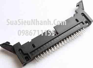 Tên hàng: DC2-40P IDE40P Box header 20x2p 2.54mm đực cong, có kẹp (só sừng); Mã: DC2-40P_R; Hàng tương đương: IDE 40; Mã kho: DC2-40P_R_GOO