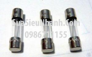 Tên hàng: Cầu chì 15A 250V ống thủy tinh 6x30mm;  Mã: F10A250V6x30