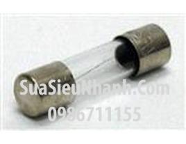 Tên hàng: Cầu chì 8A 250V ống thủy tinh 6x30mm;  Mã: F8A250V6x30