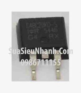 Tên hàng: G4BC20KD-S, IRG4BC20KD-S IGBT 15A 600V;  Mã: G4BC20KD-S;  Kiểu chân: dán D2Pak;  Hãng sx: IR;  Tag: This part replaces the IRGBC20KD2-S and IRGBC20MD2-S products