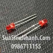 Tên hàng: LED đỏ phi 5mm đơn outdoor;  Mã: LDP5R-3VO