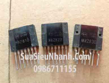 Tên hàng: MA2810 IC Nguồn Switch (TM); Mã: MA2810_OLD; kiểu chân: ZIP-7; Thương hiệu: MITSUBISHI