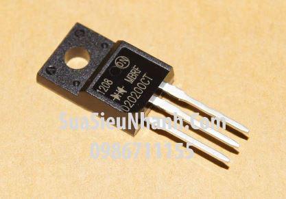 Tên hàng: F20200CT MBRF20200CT Diode 20A 200V; Kiểu chân: cắm TO-220; Hãng sx: ON; Mã: MBRF20200CT