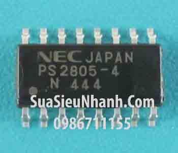 Tên hàng: PS2805-4 SOP16 3.9mm Photocouplers opto cách ly quang; Mã: PS2805-4; Kiều chân: SOP-16 3.9mm; Thương hiệu: NEC; Xuất xứ: chính hãng; Tag: PS2801 Photocouplers opto cách ly quang, 2805-4, PS2805-1, PS2805-2, PS2805-3, PS2805C-4