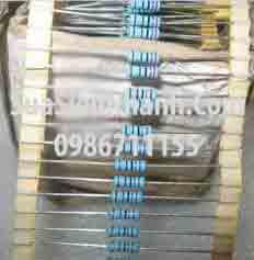 Tên hàng: Điện trở 2.7K 2W (2K7 2W) sai số 1%;  Mã: RES-2.7K2W