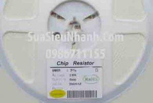 Tên hàng: Điện trở 1K 0.125W (1/8W) dán 0805 102 (L2xW1.2mm) sai số 5%;  Mã: RES0805-1K0.125W;  Kiểu chân: dán 0805 (L2xW1.2mm);  Phân nhóm: điện trở dán 0805;  Dùng cho: Vật tư Servo;  Tag: Điện trở dán 0805; điện trở dán 1K, điện trở dán 1K
