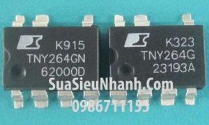 Tên hàng: TNY264G TNY264GN SOP7 IC Nguồn switching; K  iểu chân: dán SOP-7;  Hãng sx: POWER;  Mã: TNY264GN