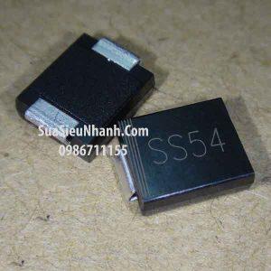 Tên hàng: 1N5824 SS54 SMC Diode dán 5A 40V Schottky Rectifier 6.8x5.9mm;  Mã: 1N5824_SS54;  Kiểu chân: dán SMC