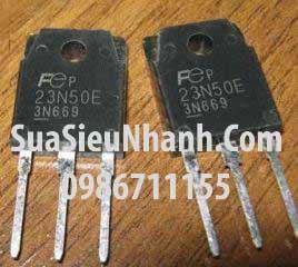 Tên hàng: 23N50E FMH23N50E N MOSFET 23A 500V (Hàng tháo máy); Kiểu chân: cắm TO-3P; Hãng sx: TOSHIBA; Mã: 23N50E_OLD