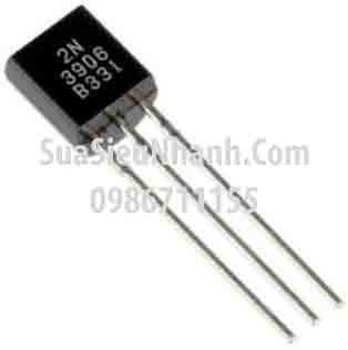Tên hàng: 2N3096 MMBT3906 2A SOT23 PNP Transistor 0.2A 40V; Mã: 2N3096_2A; Kiểu chân: dán 3 chân SOT-23