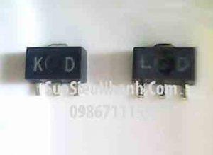 Tên hàng: 2SA1736 LD SOT89, 2SC4541 KD SOT89 Cặp Transistor 3A 50V;  Mã: 2SA1736_LD-2SC4541_KD;  Kiểu chân: dán SOT-89;  Dùng cho: vật tư SERVO (FANUC);  Phân nhóm: NPN Transistor và PNP Transistor