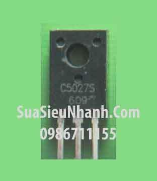 Tên hàng: C5027 TO220 NPN Transistor 3A 800V BCE; Mã: 2SC5027; Kiểu chân: cắm TO-220; Thương hiệu: Toshiba; Xuất xứ: chính hãng; Dùng cho: vật tư máy may; Phân nhóm: NPN Transistor