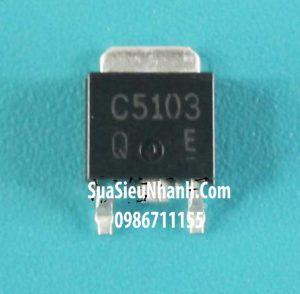 Tên hàng: 2SC5103 C5103 TO252 NPN Transistor 5A 60V BCE; Mã: 2SC5103; Kiểu chân: 3 chân dán TO-252; Phân nhóm: NPN Transistor, TO-252 Transistor; Dùng cho: vật tư màn hình LCD