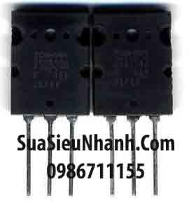Tên hàng: Cặp C5200 A1943 2SC5200 2SA1943 NPN Transistor 15A 230V và PNP Transistor 15A 230V (TM); Mã: 2SC5200-2SA1943_OLD; Kiểu chân: cắm 3 chân TO-247; Thương hiệu: TOSHIBA; Xuất xứ: Tháo máy; Dùng cho: vật tư Amply; Phân nhóm: NPN Transistor, PNP Transistor