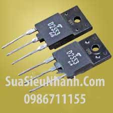 Tên hàng: 2SD2553 D2553 TO3P NPN Transistor 16A 600V (TM); Mã: 2SD2553; Kiểu chân: cắm TO-3P; Thương hiệu: Toshiba; Dùng cho: vật tư màn hình;