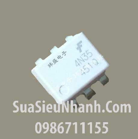 Tên hàng: 4N35 SIP6 Photo-transistor opto photocoupler; Mã: 4N35; Kiểu chân: cắm DIP-6; Thương hiệu: TOSHIBA; Phân nhóm: Photocoupler->Photo-Transistor